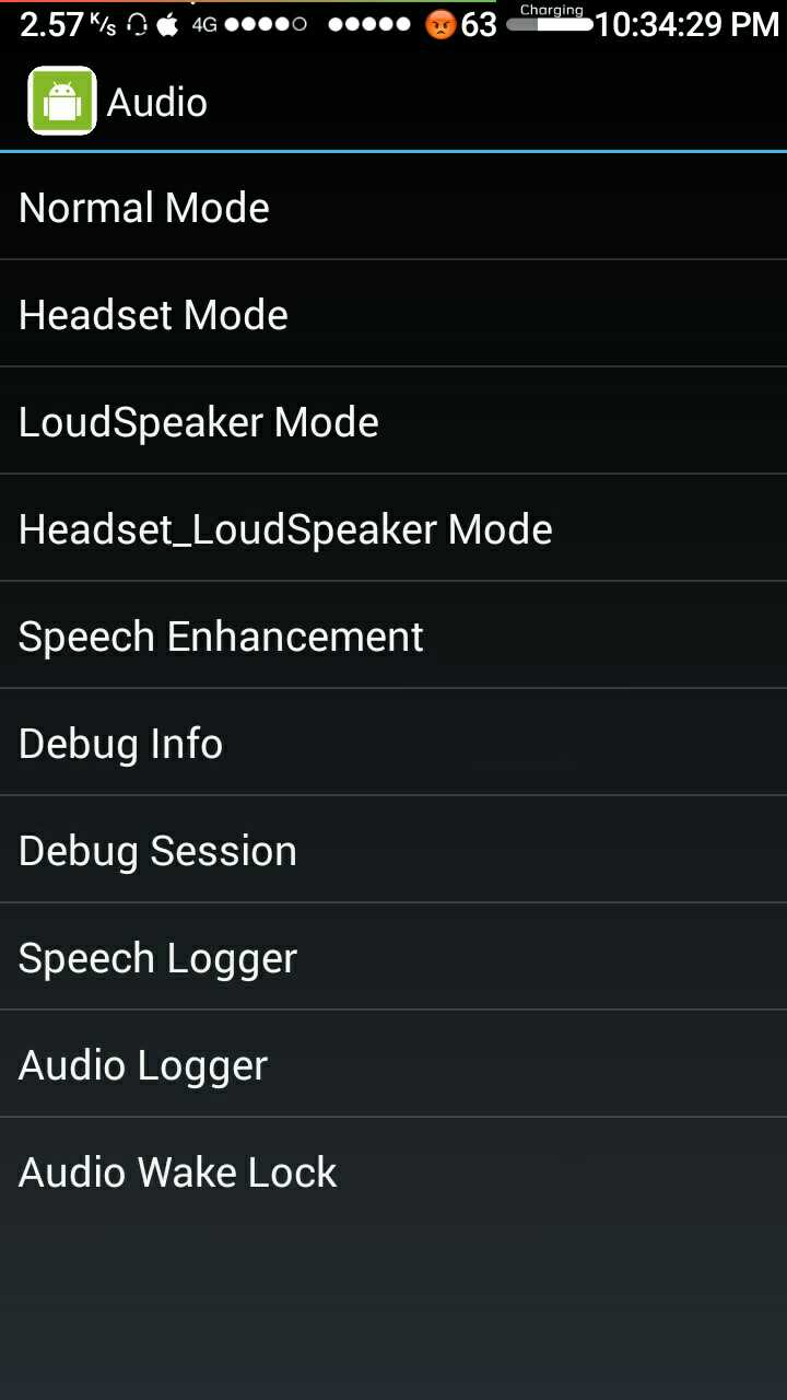 How to increase the volume on the android